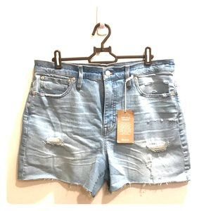Brand New High-Wasted Madewell Shorts-with tags!